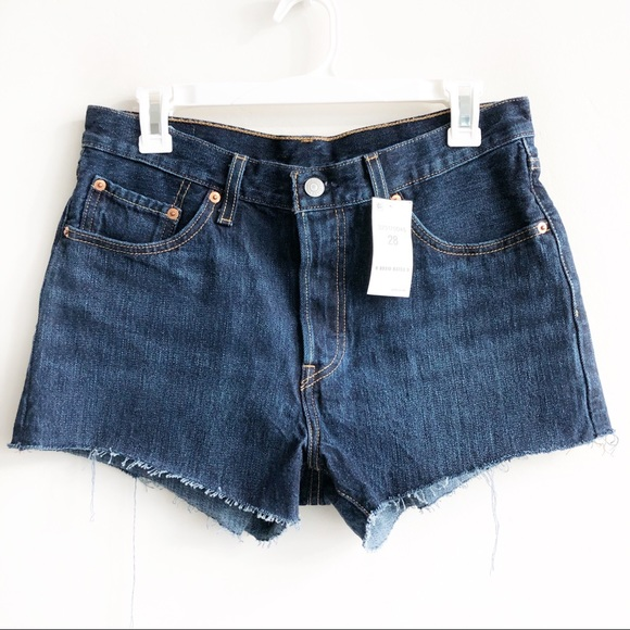 Levi's Pants - (NWT) Levi's 501 High Waisted Button Fly Shorts